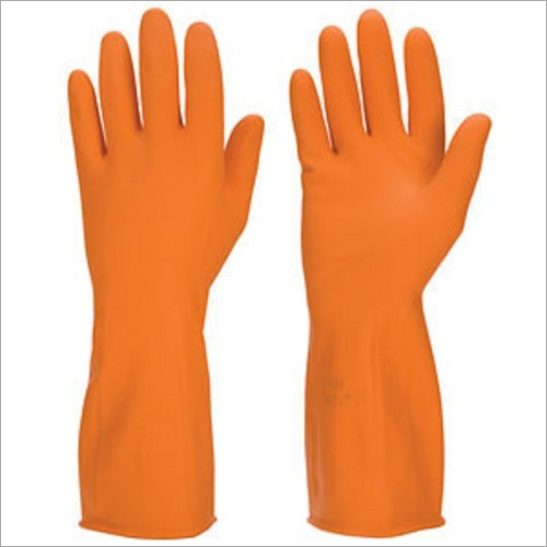 Chemisafe Rubber Gloves