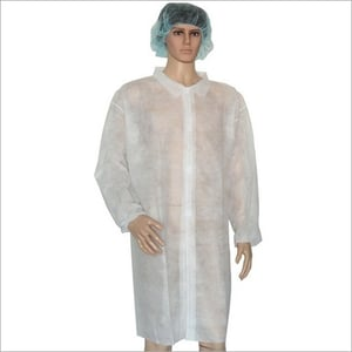 Non Woven Disposable Lab Coat