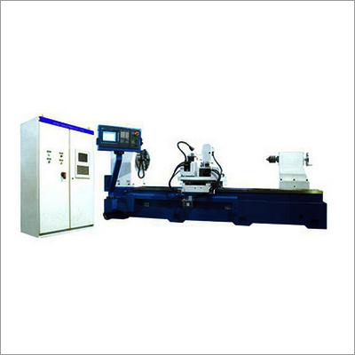 Sachonix CNC Roll NOtching and Marking Lathe Machine