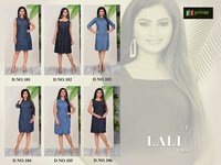 Lali Vol 1 Western Type Cotton Denim Kurtis