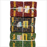 Cotton Bombay Dyeing Lungi Fabric