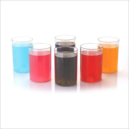 Unbreakable Plain Plastic Glass