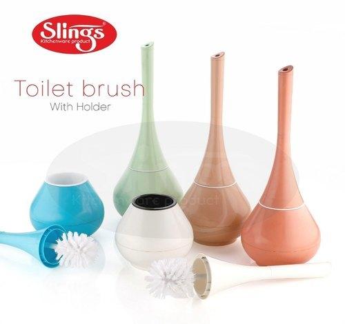 Slings Toilet Brush With Holder