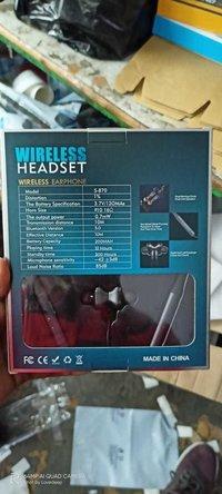 S870 Bluetooth Headset