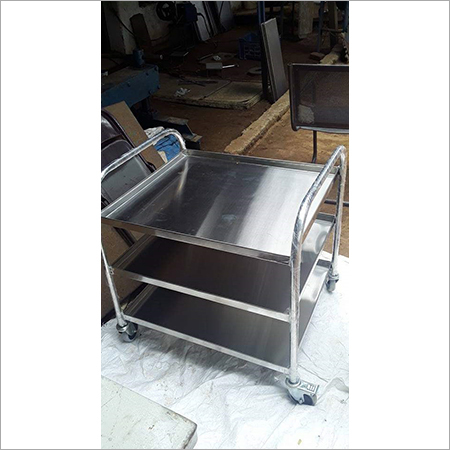 3 Partition Instrument Trolley