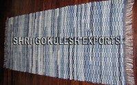 Indian Designer Handmade 100% Cotton Chindi Carpets
