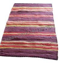 New Modern Design Indian 100% Cotton Rag Rugs