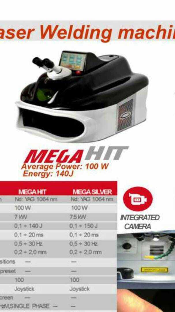 MegaHit Italian Jewellery Laser Welding Machine