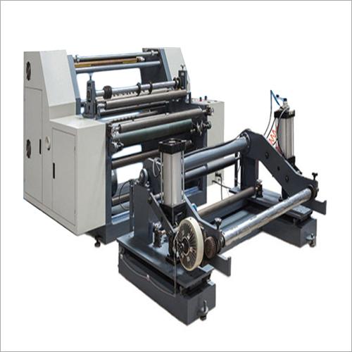 Paper Roll Slitter And Rewinding Machine
