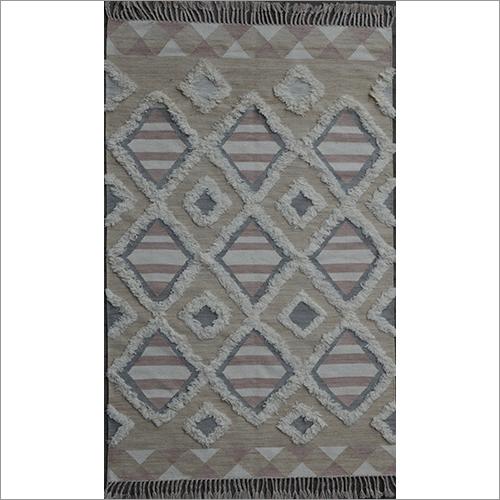 Hand Woven Woolen Pile Kilim