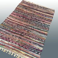 Indian Handmade Pure 100% Cotton Rag Rugs