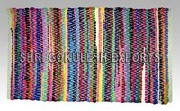 Indian Handmade Pure Natural Cotton Rag Rugs