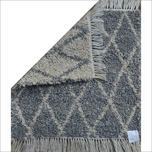 Hand Woven Reversible Polyester Rug