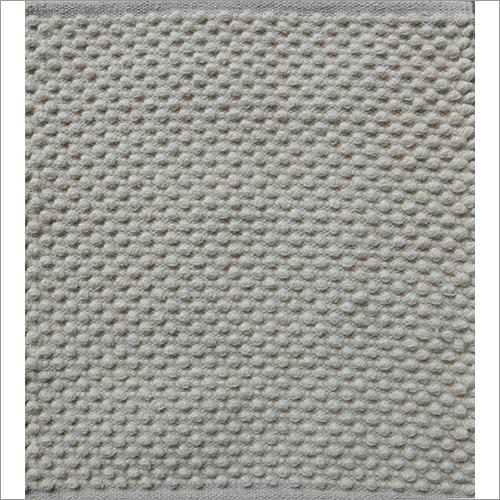 Hand Woven Zebra Wool Loop Rug