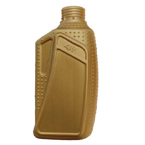 HDPE PLASTIC GOLDEN LUBRICANT BOTTLE
