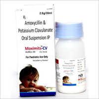 Amoxycillin 200 mg & Potassium Clavulanate Acid 28.5 mg  Oral Suspension
