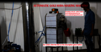 Automatic goli soda making machine