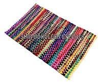 Modern New Pattern Indian Handmade Cotton Rag Rugs