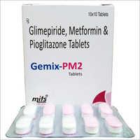 Metformin HCL Pioglitazone Glimepiride