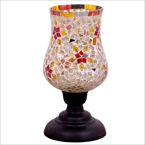 Samadaan Glass Candle Stand