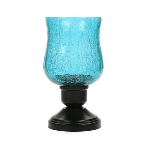 Metal Stand Glass Samadaan Lamp