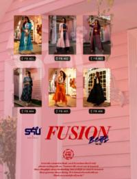 Fusion Beats Vol 4 Designer Westurn 3 Pic Rayon Kurtis