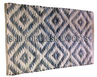 Indian Style Hot Selling Handmade 100% Cotton Rag Rugs