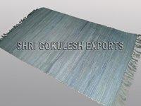 100% Pure Indian Cotton Handmade Chindi Carpets