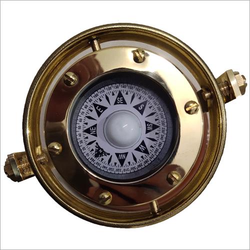Wood And Brass U Compass