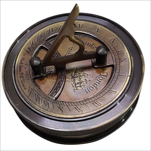 Black And Gold Antique Koem Compass