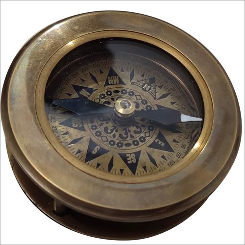 Antique Open Face Compass