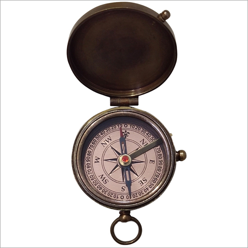 Antique Black  Flat Koem Compass