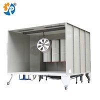 Booth For Electrostatic Powder Spraying