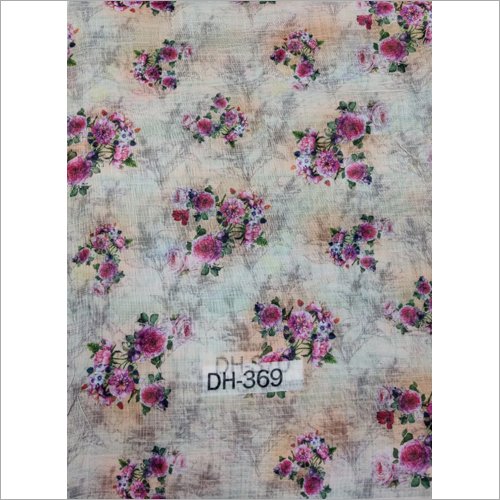 Linen Digital Printed Fabric