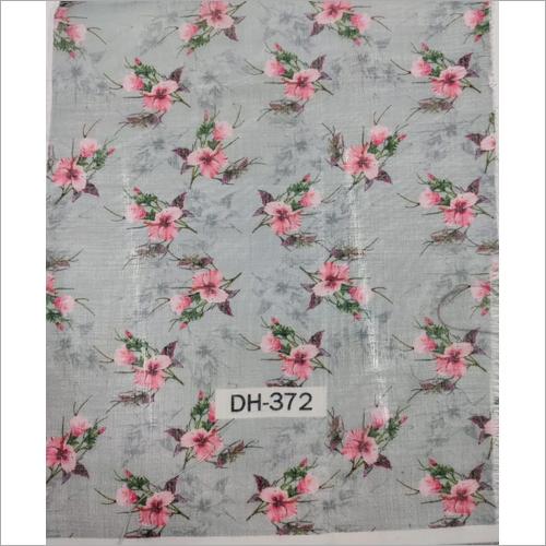 Maslin Cotton Digital Printed Fabric