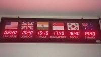 Digital World Clock