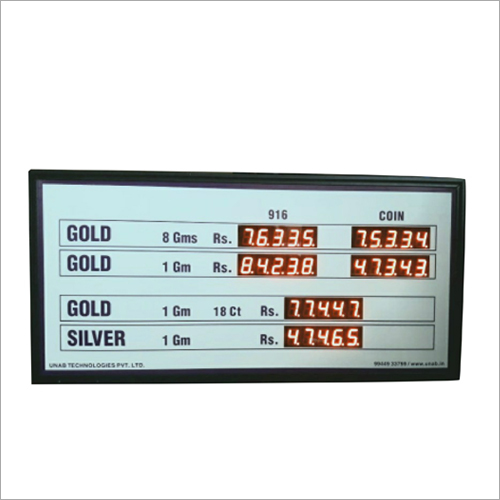 Remote Control Based Electronic Display Board