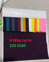 Zuric-4 Way Lycra Fabric