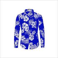 Printed Bright Satin Shirt Fabric