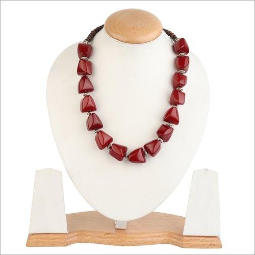 Acrylic Beaded Stylish Necklace