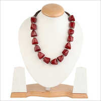 Acrylic Beaded Stylish Necklace