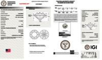 Round Brilliant Cut CVD 1.71ct Diamond I VS1 IGI Certified Lab Grown TYPE2A 451058843