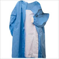 Disposable Rainforced Gown