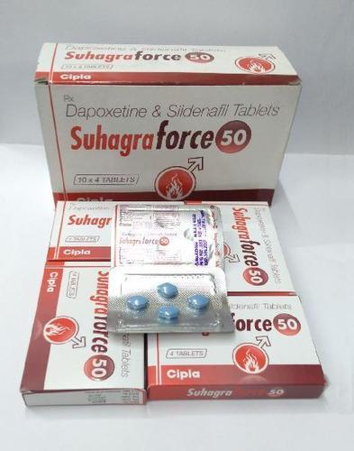 Sildanafin & Dapoxetinene Tablets