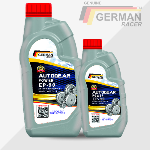 German Racer Autogear Power Ep-90 Automotive Gear Oil