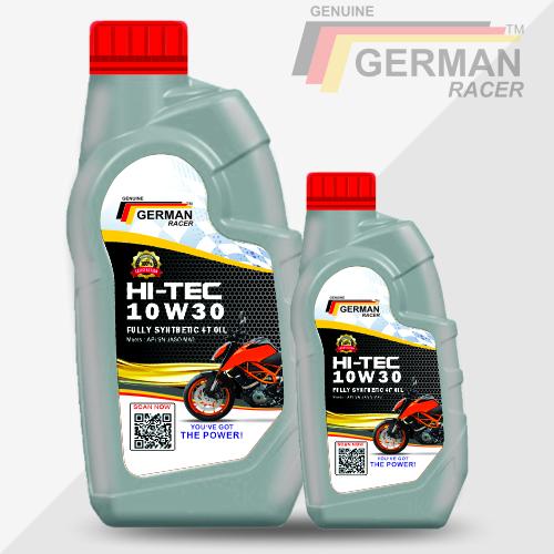 German Racer Hi-tec 10w-30 Engine Oil (800ml/1 L)