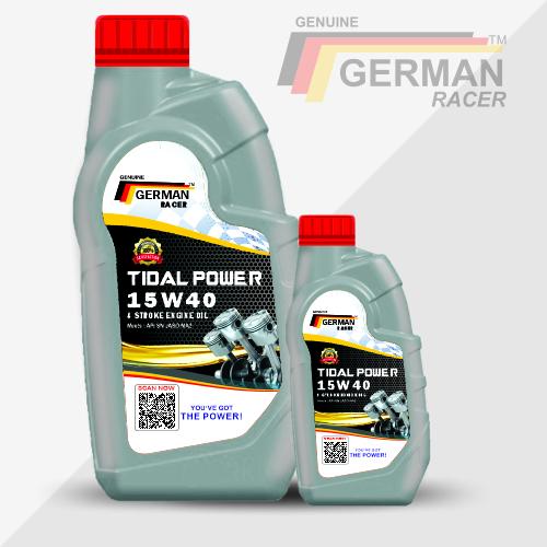 GERMAN RACER TIDAL POWER 15W40 ENGINE OIL