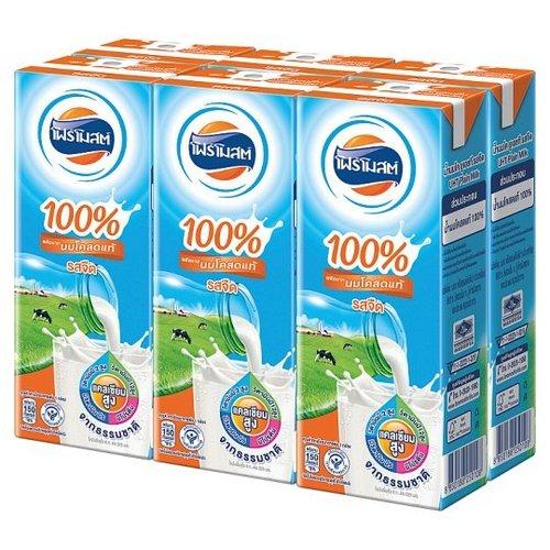 Foremost UHT plain milk product 225ml x 6 boxes