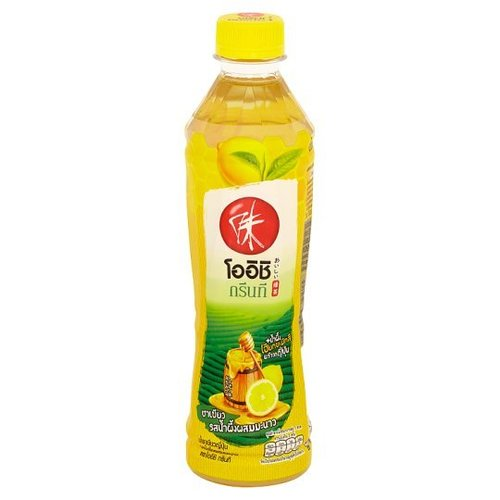 Oishi Green Tea, Japanese Green Tea Honey and Lemon flavor 380 ml.