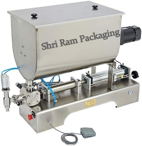 Paste Filling  Machine with Stirrer